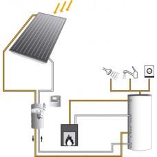 Aurinkolämmitysjärjestelmä 2