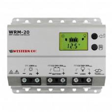 Western WRM-20 MPPT lataussäädin