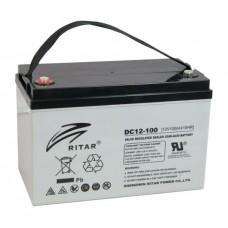 Ritar DC12-100D AGM-akku