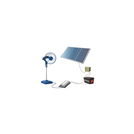 Off grid cabin package JN - 145 W/ 230 Ah